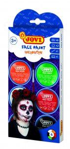 Farby do malowania twarzy na halloween